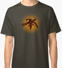 Sci-Fi Lava Alien from another world Classic T-Shirt