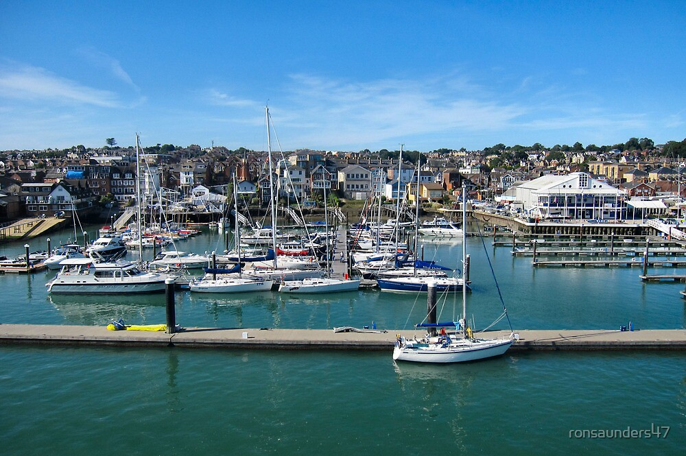 Cowes Yacht Marina. Isle of Wight. UK. by ronsaunders47