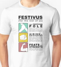 FESTIVUS airing of grievances illustration Unisex T-Shirt