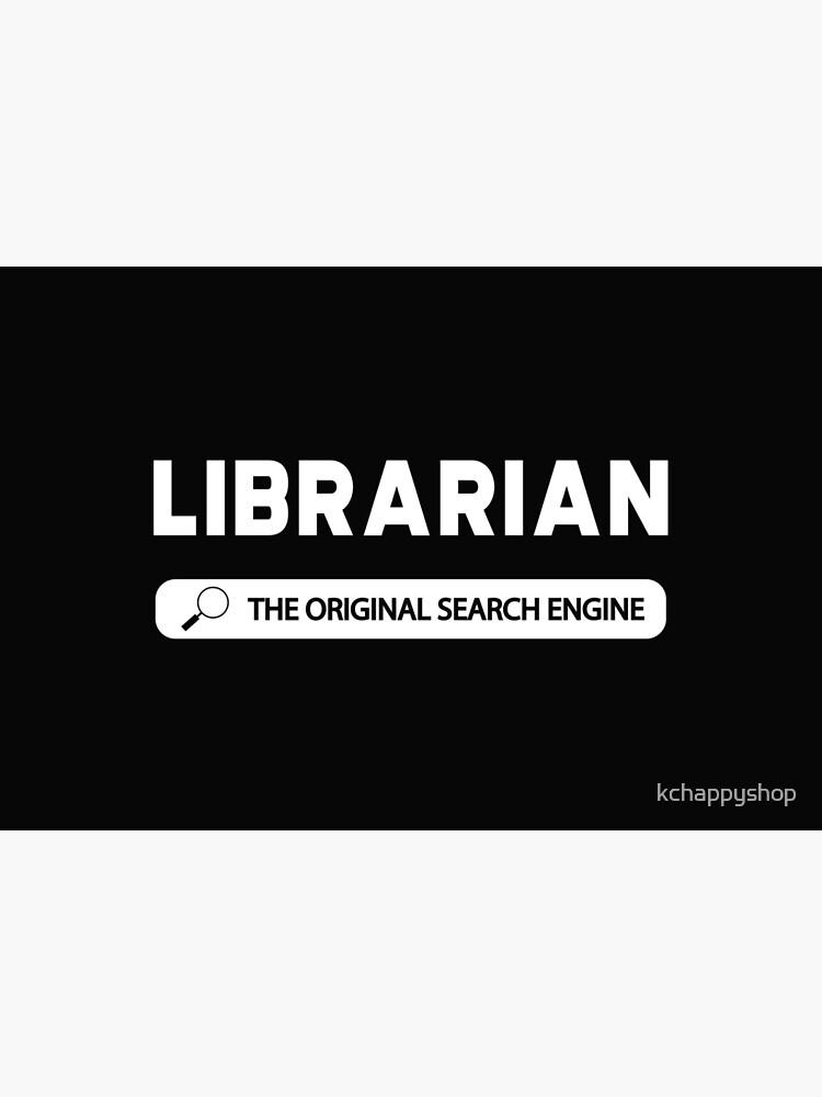 Librarian - The original search engine by kchappyshop