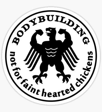 Bodybuilding VRS2 Sticker