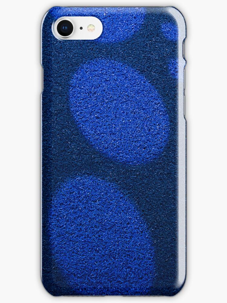 Blue Circles [ Print & iPad / iPod / iPhone Case ] by Mauricio Santana