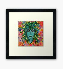 Green Elf Framed Print