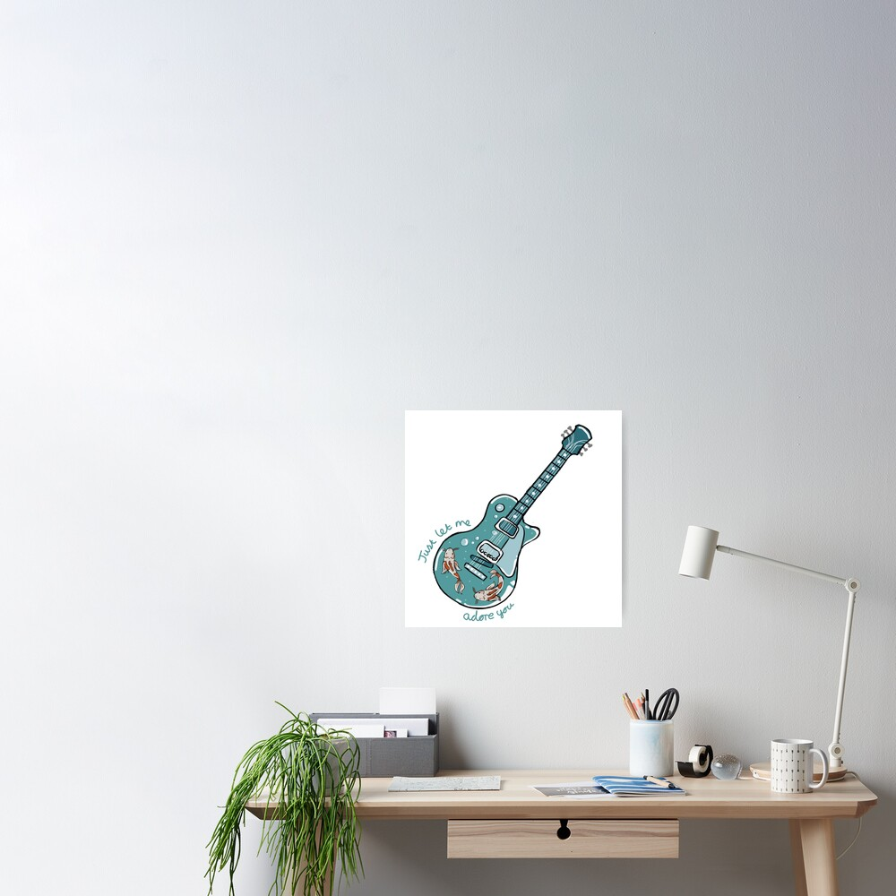 Harry Styles- Adore you guitar Poster