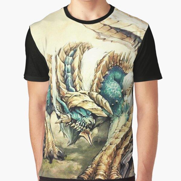 Monster Hunter - Zinogre, Roaring Thunder Graphic T-Shirt