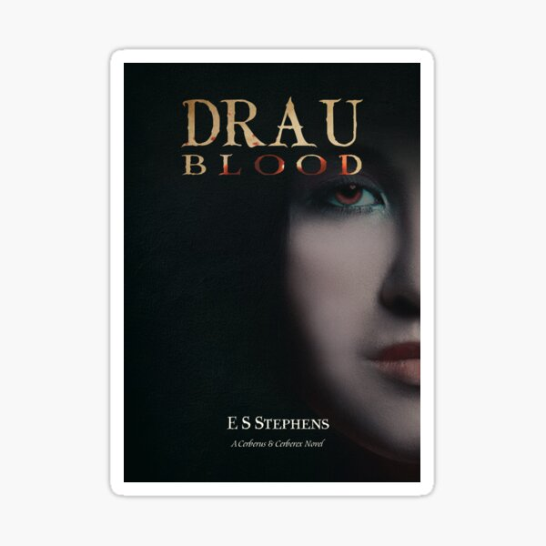 Drau: Blood Cover Art Sticker