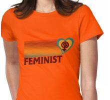 Retro Feminist  Womens Fitted T-Shirt