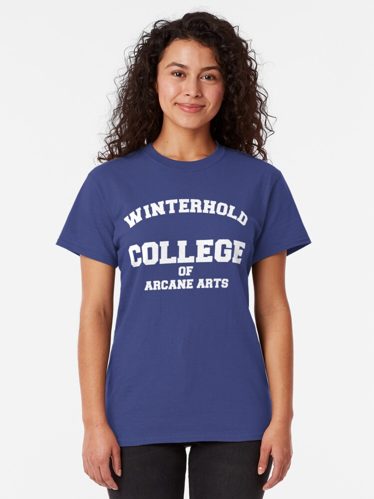 Alternate view of Winterhold College Classic T-Shirt