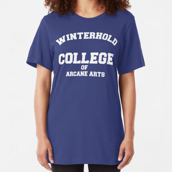 Winterhold College Slim Fit T-Shirt