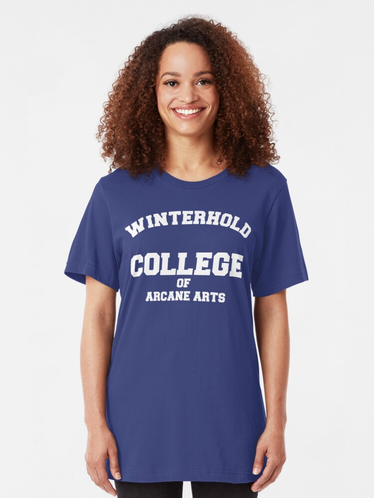Alternate view of Winterhold College Slim Fit T-Shirt
