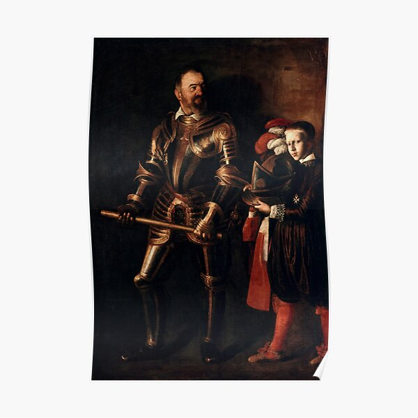 Caravaggio - Alof De Wignacourt Poster