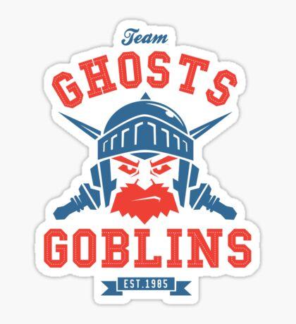 Team Ghost & Goblins Sticker