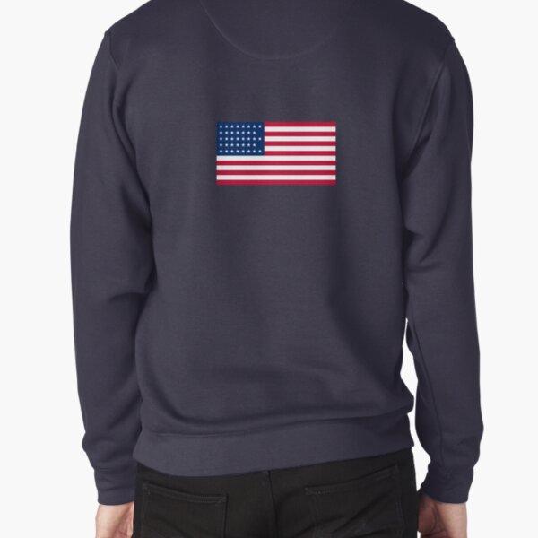 American Flag  Pullover Sweatshirt