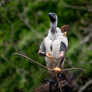 Griffon vulture Legolas by Felfriast