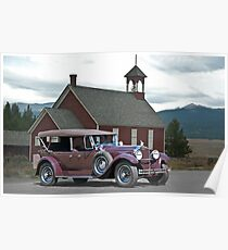 1929 Packard 640 Touring Car Poster