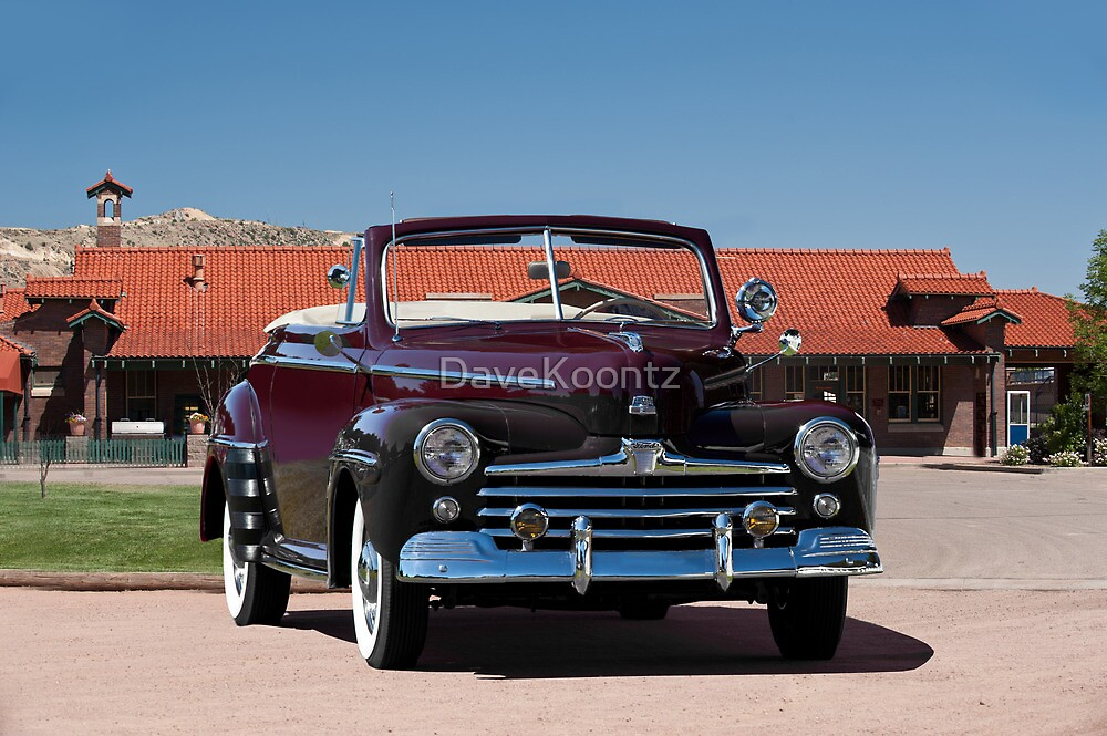 1947 Ford Super Deluxe Convertible by DaveKoontz