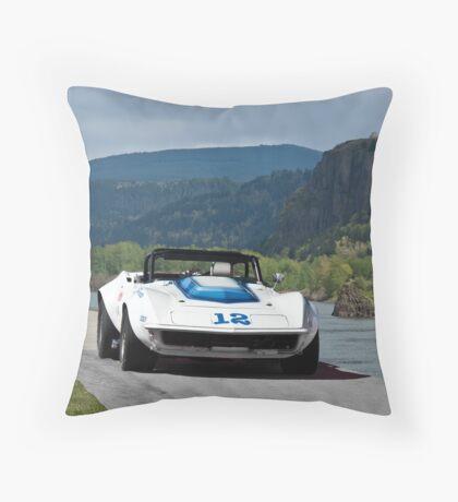 1968 Corvette Trans Am GT Throw Pillow