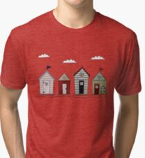 Beach houses Tri-blend T-Shirt