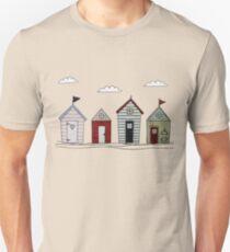 Beach houses Unisex T-Shirt