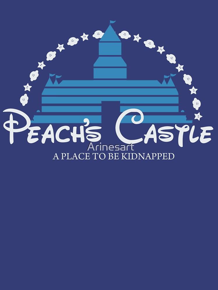 Peach's Castle by Arinesart