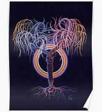 Lovers Tree of Life Poster