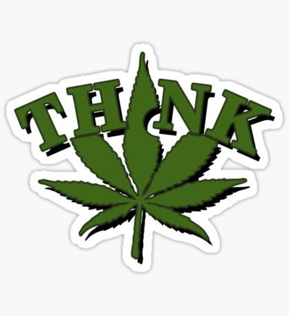Think Weed VRS2 Sticker