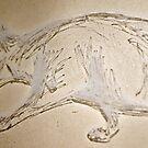 The Stalking Cat by fliberjit