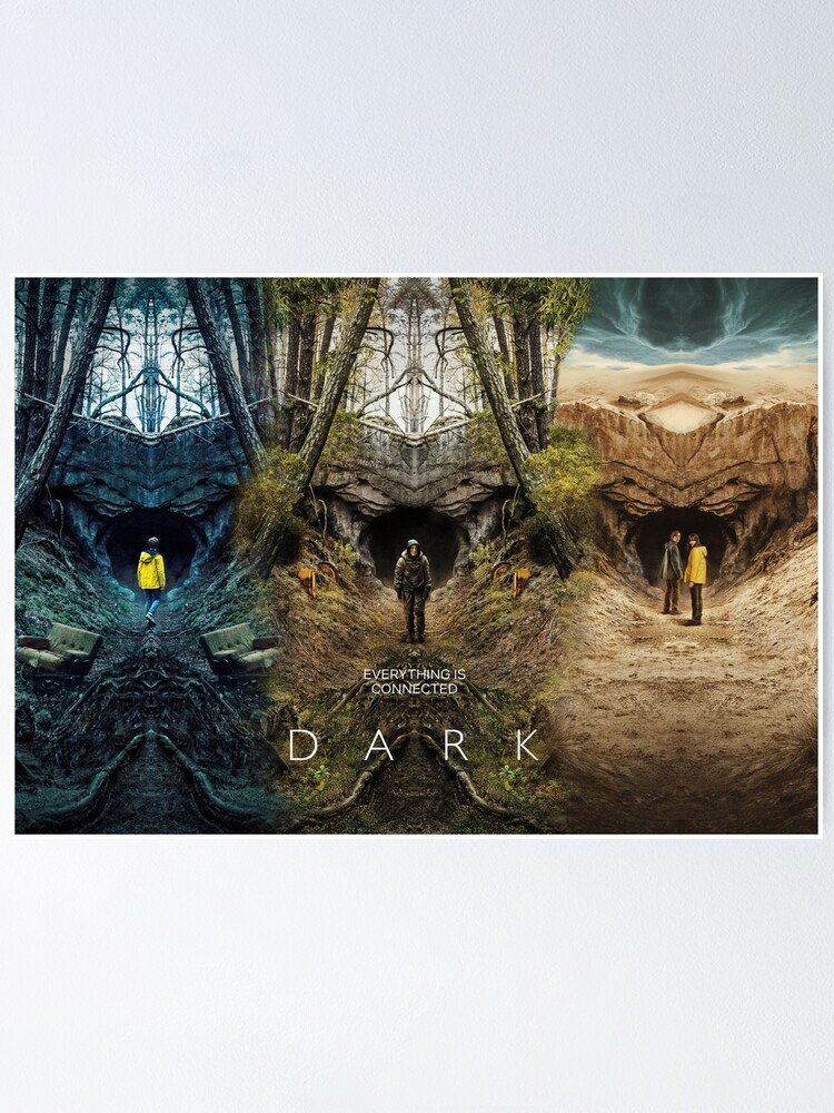 Alternate view of DARK season 1 2 3 poster Poster
