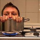 Man in a pot by JPAube