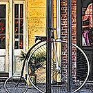 Bicycle, New Orleans by Mark Ross
