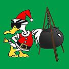 Santa Duck - Duck Logic Christmas by Dave-id