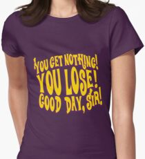 Good Day Sir Women's Fitted T-Shirt