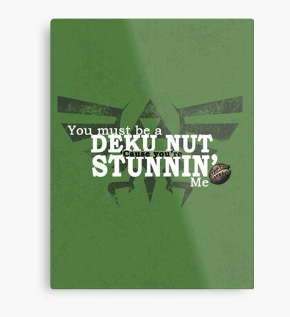 Stunnin' - For Darker Shirts Metal Print