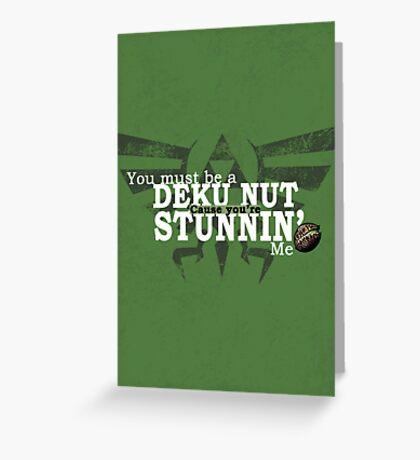 Stunnin' - For Darker Shirts Greeting Card