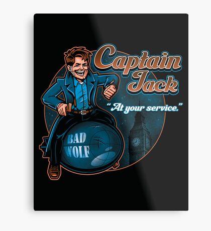 Captain Jack Metal Print