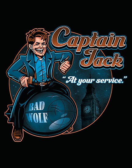 Captain Jack by harebrained