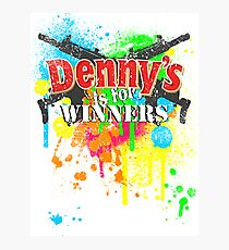Denny's is for Winners Photographic Print