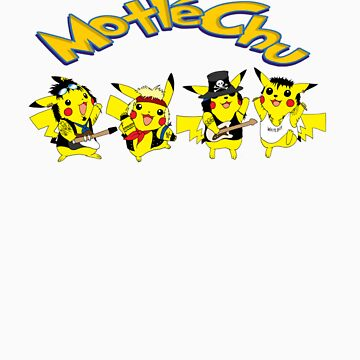 Motley Crew Pikachu by Ary123