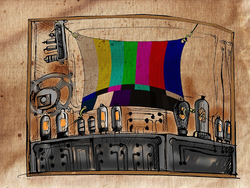 Old TV by Mko Shekh