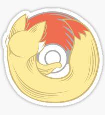 Fire Type Browser Sticker