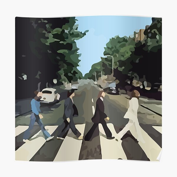 Abbey Road Album Cover Poster