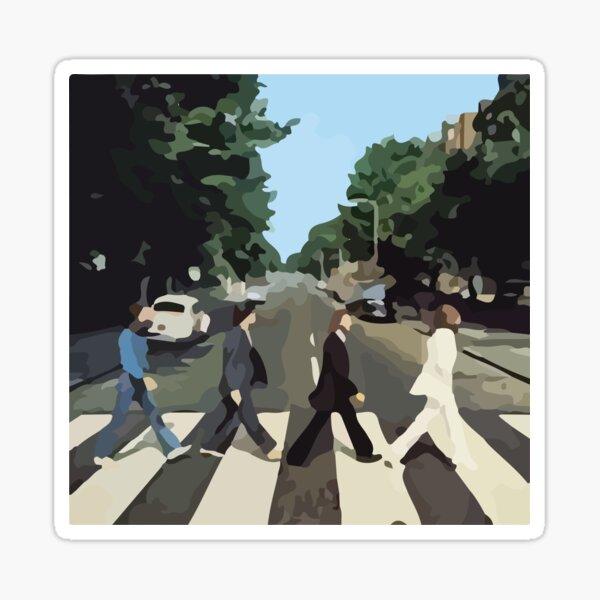 Abbey Road Album Cover Sticker