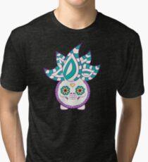 Oddish Pokemuerto   Pokemon & Day of The Dead Mashup Tri-blend T-Shirt