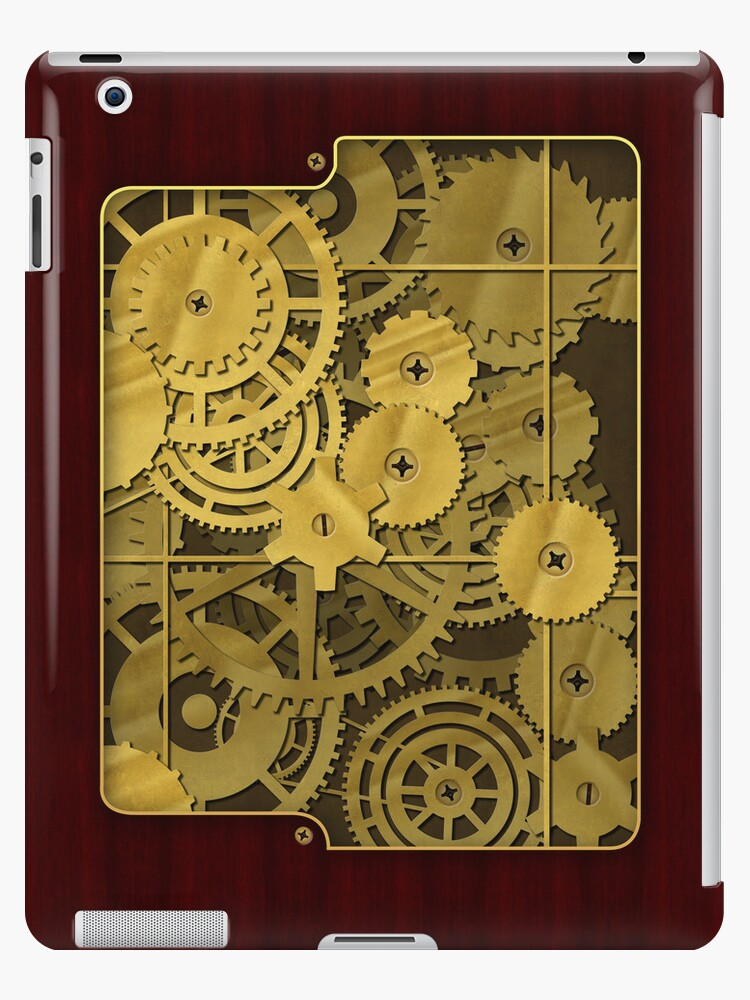 Steampunk brass and rosewood finish by Confundo
