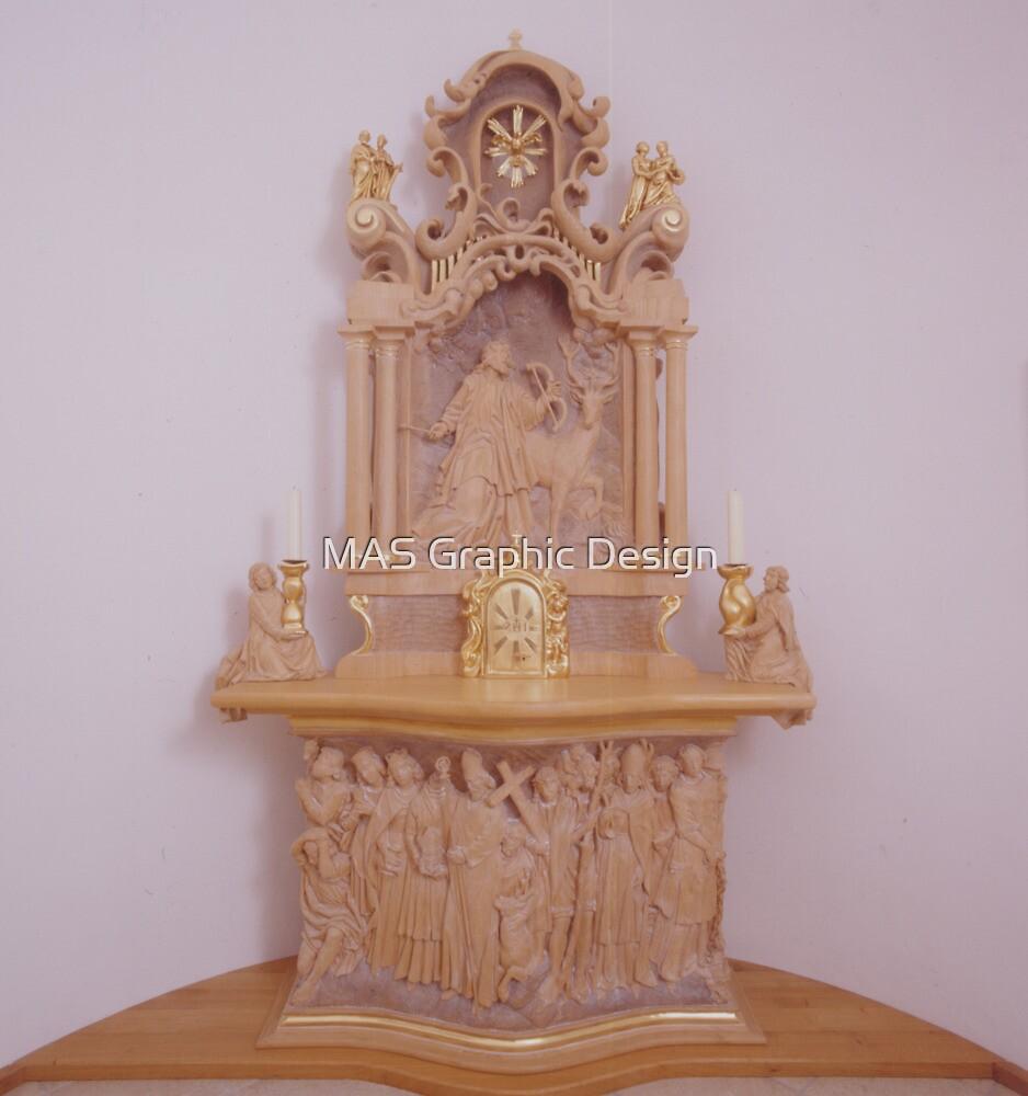 Church Altar by atelierwilfried