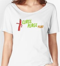 Curse Purge Plus! Shirt Women's Relaxed Fit T-Shirt