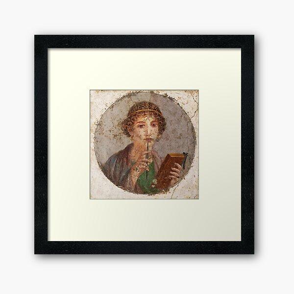 Sappho (HQ) Framed Art Print