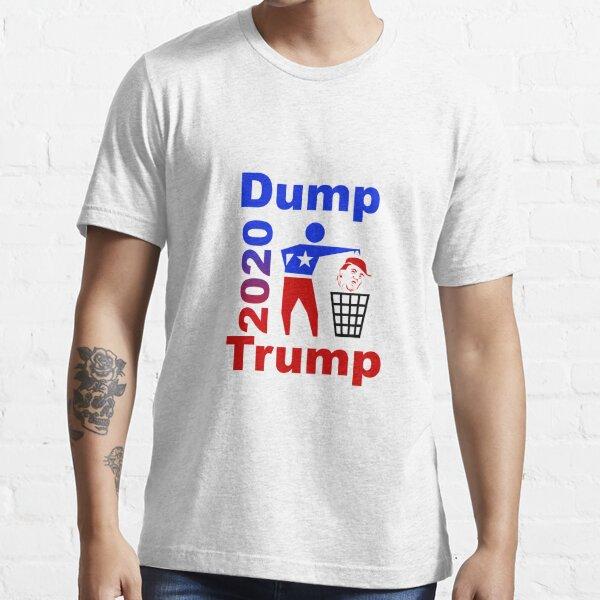 Dump Trump 2020 rec Essential T-Shirt