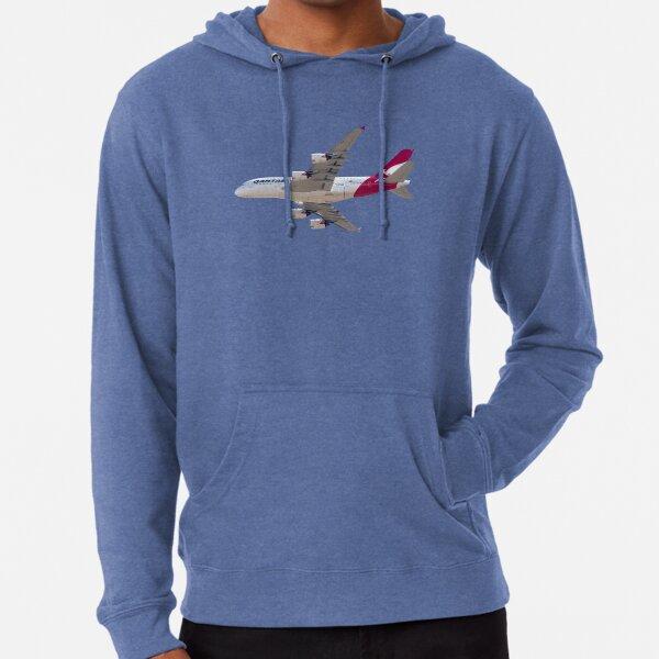 Small Hoodie Airplane Airliner Cartoon Girls Graphic Sweatshirt Pullover Hoodie