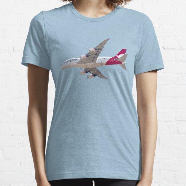 Qantas Airbus A380 plane Essential T-Shirt